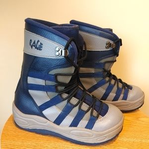 Rage Snowboard Boots Youth Adult Boot size 7